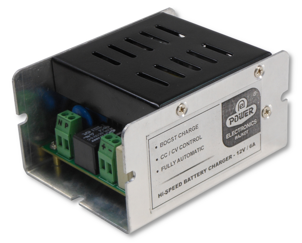 Automatic Battery Charger Power Electronics